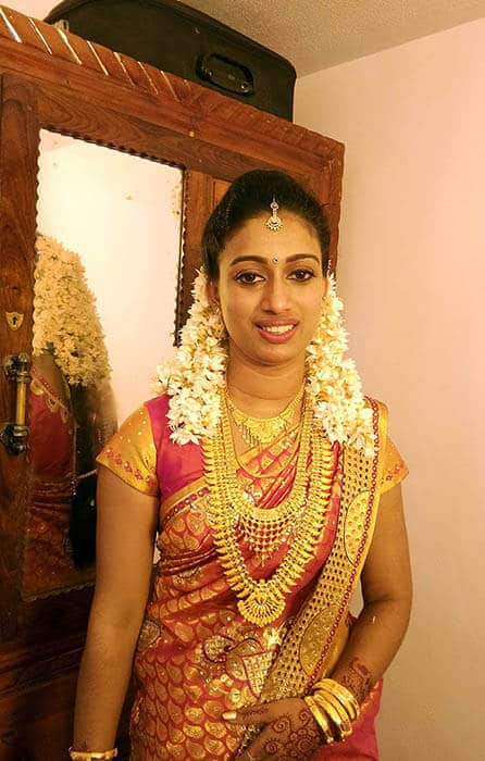 Nice Beauty Parlour the best beauty parlour in Cherupuzha Bridal Makeover